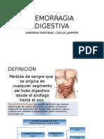 Hemorragia Digestiva. Yo