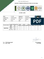 Cucet – 2016 ,Ug_pg_rp Programmes