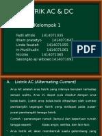 Listrik Ac & Dc