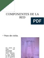Componentes de La Red Pozos de Visita