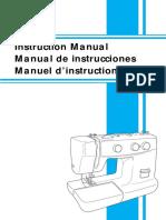 Manual Brother Xl 5130