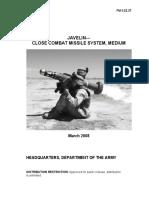 US Army FGM-148 Javelin User Manual FM3-22-37_2008