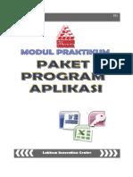 Praktikum Paket Program Aplikasi
