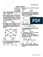AIIMS Solved Paper 1999
