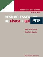 Preparação para Exames , Resumo Essencial de Física e Química  (Editorial Presença)