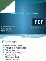 Presentation DG Sets