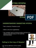 Marketting Myopia