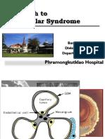 approach to glomerular syndrome