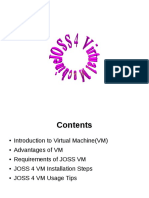 Joss4 Vm Install Steps