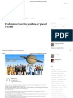 Profession From the Position of Planet Saturn _ Astrogurukul