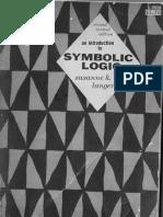 An Introduction to Symbolic Logic - Susanne K. Langer