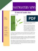 Toastmasters News - edición mayo 2010