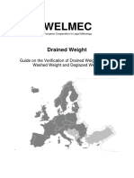 WELMEC Guide 6.8 Issue 2 Drained Weight