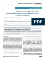Quantifying the Trade Effects of Sanitary and Phytosanitary Regulations of the Eu on Sudan's Groundnuts Exports