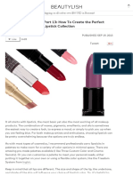 Building Your Kit Part 13_ How to Create the Perfect Lipstick Collection _ Beautylish