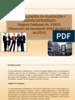 Esp. en Planeación 2015 PDF