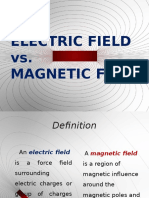 Electric Field vs Magnetic Field
