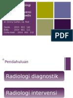 Referat Modalitas Radiologi Diagnostik Dan Radiologi Intervensi - Revisi