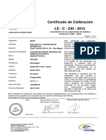 Certificado Applied presicion