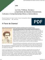 A Favor de Gramsci – Cidadania & Cultura.pdf