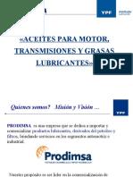 Aceites Para Motor, Transmision y Grasas Lubricantes