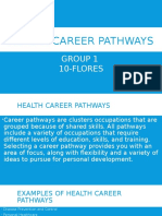 Health Career Path 10 Flores