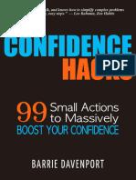 Confidence Hacks - Barrie Davenport