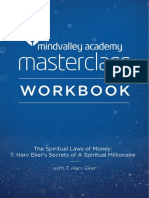Harv Eker Masterclass Workbook Feb2015