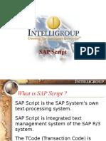 7203270 SAP Scripts