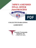 Triumph Final Contract Proposal - IAM
