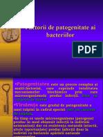 Factorii de Patogenitate Ai Bacteriilor-2