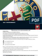 Alfa Mito.owners manual.