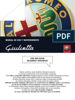 Manual Giulietta Sept2011.Man Us.