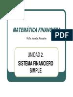 TEMA 2 Matematica Financiera