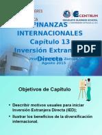 Ch13-Finanzas Internacionales