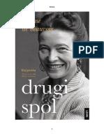 Simone de Beauvoir - Drugi Spol