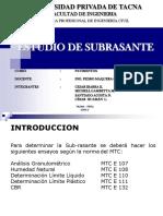 Estudio de Transito en La Ciudad de Tacna UPT