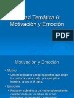 URP Unidad Tem Tica 6 Motivaci n y Emoci n 1