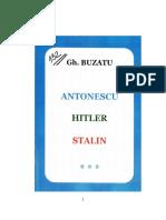 Gheorghe Buzatu Antonescu Hitler Stalin