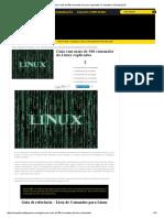 Guia com mais de 500 comandos do Linux explicados
