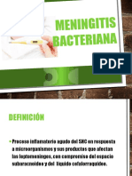 Meningitis bacteriana aguda en Pediatría.