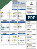 Calendário Academico - Contábeis