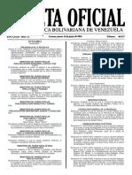 Gaceta Oficial N° 40.927 - Notilogía