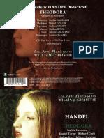 Handel Theodora Libretto
