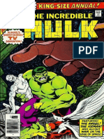 The Incredible Hulk Annual 7 Vol 1