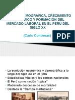 CRECIMIENTO ECONÓMICO Y FORMACIÓN DEL MERCADO LABORAL EN EL PERÚ