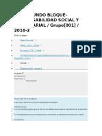 Examen Responsabilidad Social Empresarial