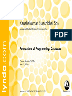 FoundationsofProgramming Databases CertificateOfCompletion