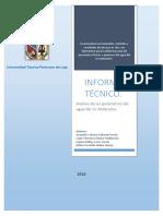 Informe Modelos Calidad Del Agua_ Grupo 9.