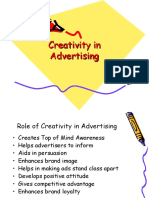 creativity in advertising